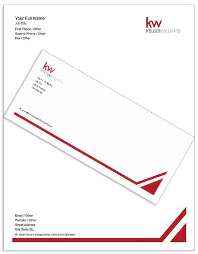 keller williams letterheads  stationery  templates