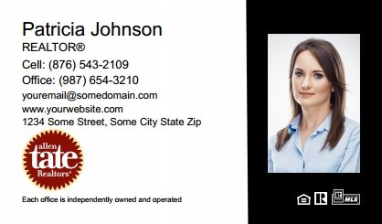 Allen Tate Business Card Labels ATC-BCL-010