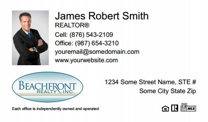 Beachfront-Realty-Business-Card-Compact-With-Small-Photo-TH04W-P1-L1-D1-White