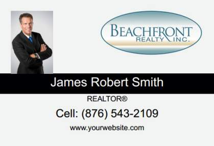 Beachfront Realty Car Magnets BRI-CM-001