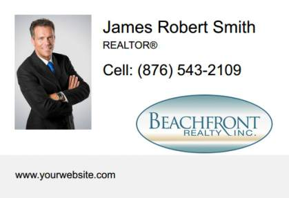 Beachfront Realty Car Magnets BRI-CM-002
