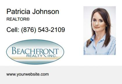 Beachfront Realty Car Magnets BRI-CM-003