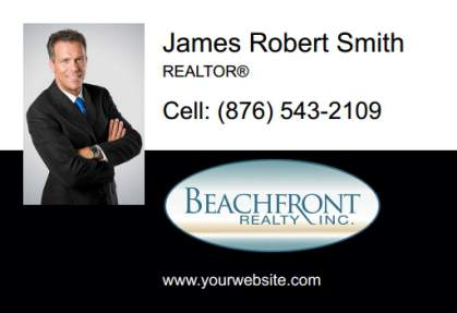 Beachfront Realty Car Magnets BRI-CM-004