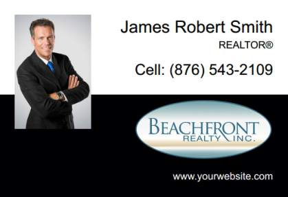 Beachfront Realty Car Magnets BRI-CM-005