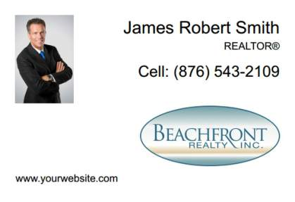 Beachfront Realty Car Magnets BRI-CM-007