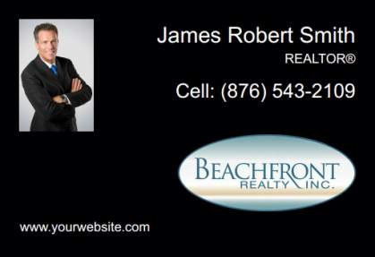 Beachfront Realty Car Magnets BRI-CM-009