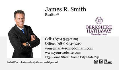 berkshire hathaway business cards bh bc 001 - Berkshire Hathaway Business Cards