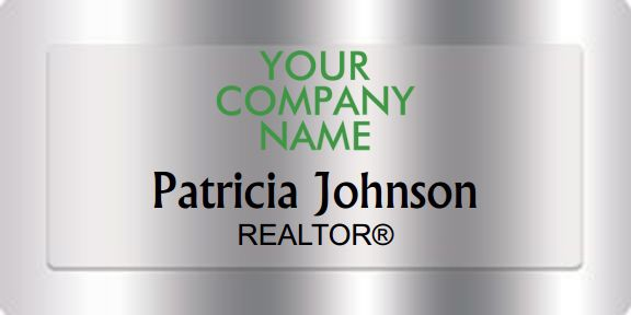 Better Homes And Gardens Name Badges Silver (W:3