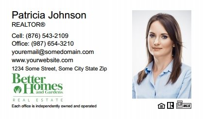 Better Homes and Gardens Canada Business Cards BHGC-BC-004