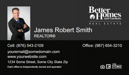 Better homes and gardens business cards stationery for canadian better homes and gardens canada business cards bhgc bc 022 with photo reheart Images