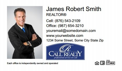 Call Realty Business Card Labels CRI-BCL-001