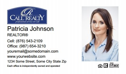 Call Realty Business Card Labels CRI-BCL-002