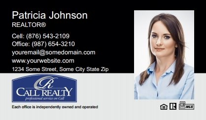 Call Realty Business Card Labels CRI-BCL-003