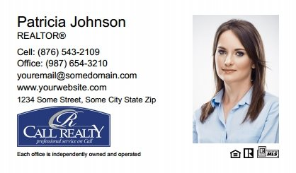 Call Realty Business Card Labels CRI-BCL-004