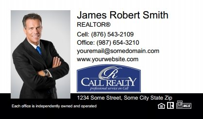 Call Realty Business Card Labels CRI-BCL-005