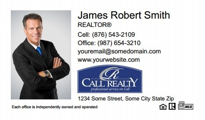 Call Realty Business Card Labels CRI-BCL-006