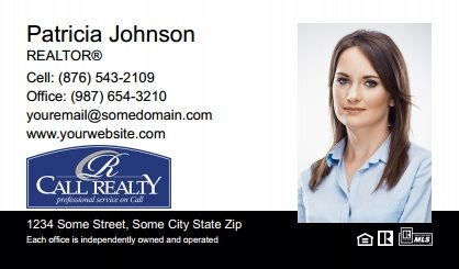 Call Realty Business Card Labels CRI-BCL-007