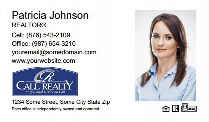 Call Realty Business Card Labels CRI-BCL-008