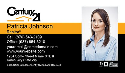 Century 21 business cards templates designs and online printing century 21 business cards c21 bc 004 wajeb Choice Image