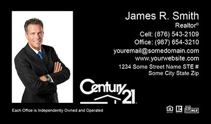 Century 21 business cards templates printing and online design century 21 business cards c21 bc 009 flashek Images