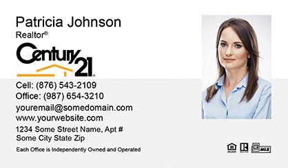Century Business Cards Template CBC Surefactorcom - Century 21 business cards template