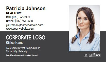 Century 21 Business Card Labels C21-BCL-006
