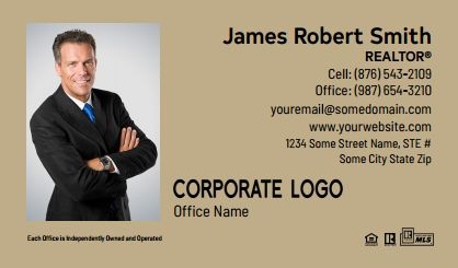 Century 21 Business Card Labels C21-BCL-009