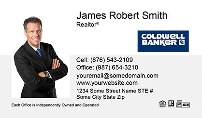 Coldwell Banker Business Card Labels CB-BCL-001