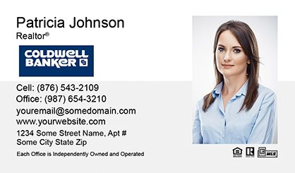 Coldwell Banker Business Card Labels CB-BCL-002