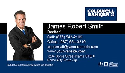 Coldwell Banker Business Card Labels CB-BCL-003