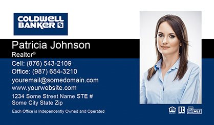 Coldwell Banker Business Card Labels CB-BCL-004