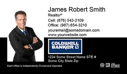 Coldwell Banker Business Card Labels CB-BCL-005