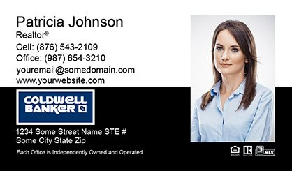 Coldwell Banker Business Card Labels CB-BCL-006