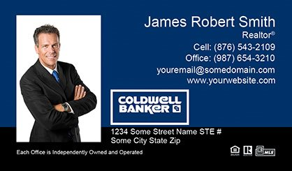 Coldwell Banker Business Card Labels CB-BCL-007
