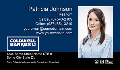 Coldwell Banker Business Card Labels CB-BCL-008