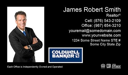 Coldwell Banker Business Card Labels CB-BCL-009