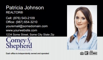 Comey and Shepherd Realtors Business Card Magnets CSR-BCM-003