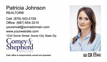 Comey and Shepherd Realtors Business Card Magnets CSR-BCM-004