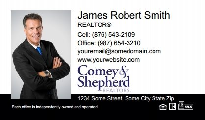 Comey and Shepherd Realtors Business Card Magnets CSR-BCM-005