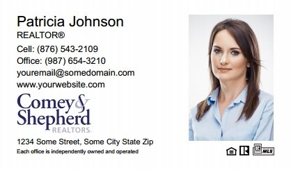 Comey and Shepherd Realtors Business Card Magnets CSR-BCM-008