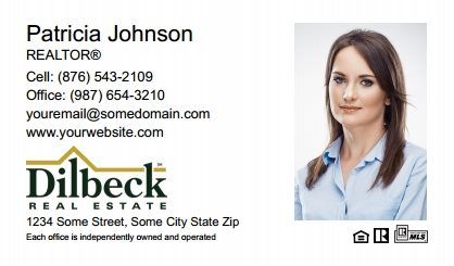 Dilbeck realtors business cards templates designs and online dilbeck realtors business cards dr bc 008 reheart Image collections