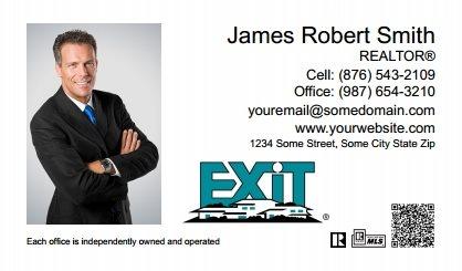 Sure factor exit realty business cards qrc exit bc 061 colourmoves