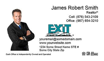 Exit realty business cards templates printing and online design exit realty business cards exit bc 011 colourmoves