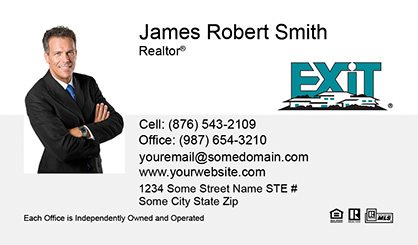 Sure factor exit realty business cards exit bc 013 colourmoves Image collections