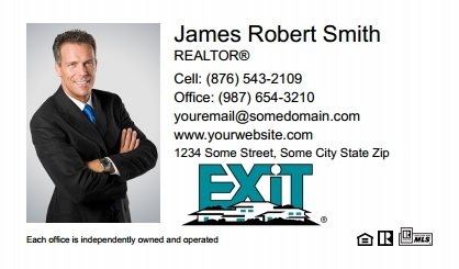 Exit Real Estate Canada Business Card Magnets EREC-BCM-001