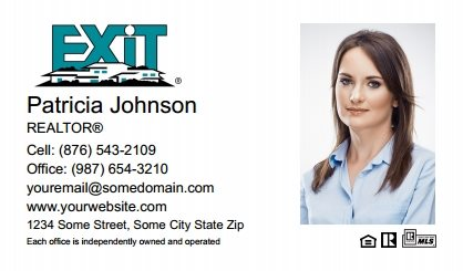 Exit Real Estate Canada Business Card Magnets EREC-BCM-002