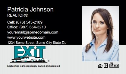 Exit Real Estate Canada Business Card Magnets EREC-BCM-003