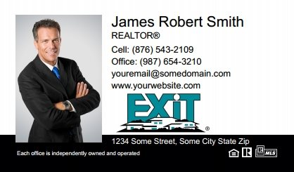 Exit Real Estate Canada Business Card Magnets EREC-BCM-005