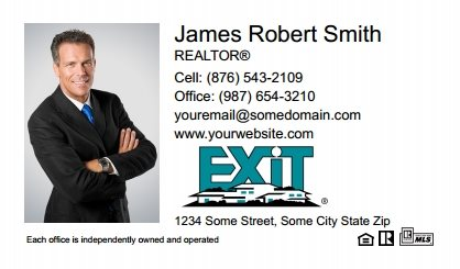 Exit Real Estate Canada Business Card Magnets EREC-BCM-006