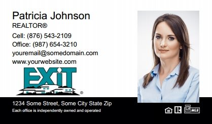 Exit Real Estate Canada Business Card Magnets EREC-BCM-007